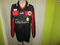 "Eintracht Frankfurt Puma Langarm Spieler Version Trikot 1999/00 ""Viag."" Gr.M TOP"