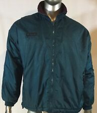Men's Columbia Jacket, teal and maroon lining, Size 3XL