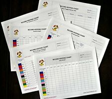 Puppies In Bloom Record Keeping Charts for Breeders