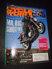 MARCH 1992 CYCLE WORLD MAGAZINE,SUZUKI GSX-R1186,KAWASAKI ZEPHYR 1100