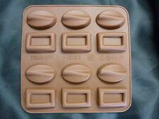 SILICONE CIOCCOLATO STAMPO CIOCCOLATINI, gelatine, CARAMELLE pralina rettangolo ovale
