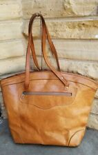 handmade natural leather  tote bag purse