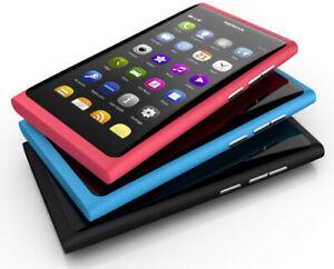 Nokia Lumia N9 N9-00 Bar Phone Unlocked 3G Wifi 16GB 8MP NFC phone / FULL PACK