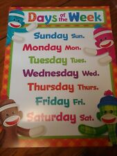 Educational/Teaching Supplies: Lg Classroom Poster Days of the Week (Trend)