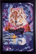 High and Mighty Wolf Spirit Counted Cross Stitch Kit
