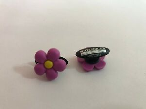 Pink Flower Shoe-Doodle Pink Flower Shoe Charm for Crocs Shoe Charms PSC060PK
