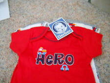 GERBER BABY Onesies Bodysuits 3-Pack Baby Shower Hero First Responders Car NWT