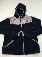 Girls THE NORTH FACE Blue Zip Up Denali Fleece Jacket Sz XL(18)