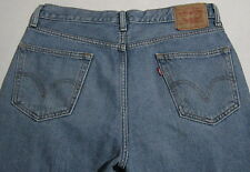 LEVI'S 550 Men's 36X32 Relaxed Fit Straight Leg Denim Jeans Medium Wash A638