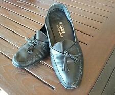 BALLY MENS LEATHER LOAFERS SIZE 10E