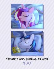 My Little Pony Cadance and Shining Armor Pillowcase