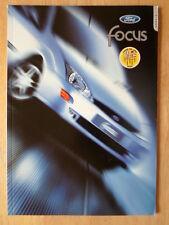 FORD FOCUS RANGE 1999 Spanish Mkt prestige sales brochure - Ambiente Trend Ghia