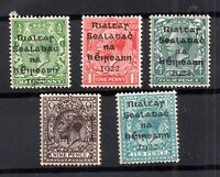 Ireland KGV 1922 mint MH collection to 10d (long 9 Type) WS16655
