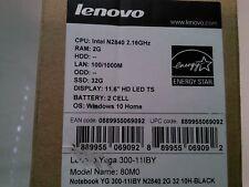 NOTEBOOK Lenovo Yoga 300-11BY 29,4cm (11,6 ) 2GB 32GB Win 10
