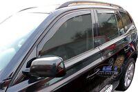 DBM11134 BMW X3 E83 5 door 2003-2010 wind deflectors 4pc set TINTED HEKO