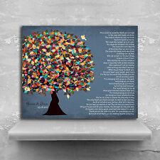 (LT-1313) Personalized Thank You Gift to Parents Poem For Mom and Dad Family ...