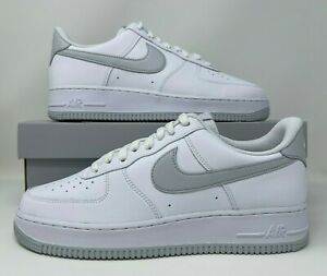 Nike Air Force 1 '07 Low Pure Platinum White Grey Men's Size 10 DC2911-100