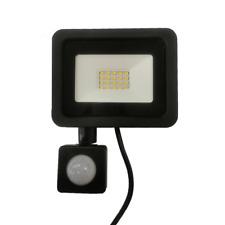 Projecteur LED Extérieur 20W IP65 NOIR avec Détecteur de Mouvement Crépusculaire