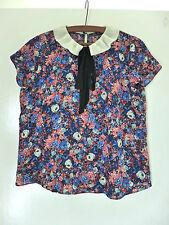 Zara Waist Length Blouse Floral Tops & Shirts for Women