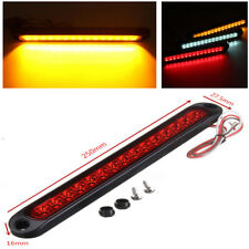 1x 15 LED Trailer Truck Stop Tail Brake Yellow Light Bar 250mm x 27.5mm x 16mm