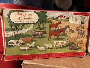 Bachmann Plasticville Barnyard Animals 1606 100 PLUS MORE!!