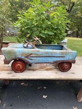 Antique Vintage 1950s Pedal Car Buick Century Body , Metal, Needs A Paint Job .