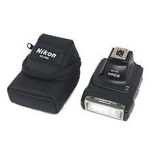 [ N.Mint in case ] Nikon SB-400 Speedlight i-TTL Shoe Mount Flash from Japan F/S