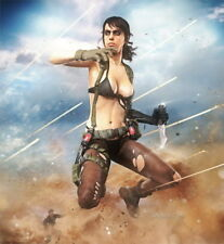 """241 Metal Gear Solid - Quiet Snake Rising v the Phantom Pain Game 24""""x26"""" Poster"""