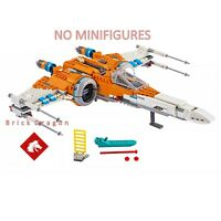 LEGO Star Wars Poe Dameron's X-wing Fighter from set 75273 (Ship only)