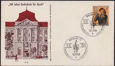 GERMANY BERLIN 1969 100th Anv. School of Music 30pf FDC unaddressed @D3758