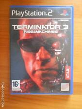 PS2 TERMINATOR 3 RISE OF THE MACHINES -COMPLETO -PAL ESPAÑA - PLAYSTATION 2 (N6)