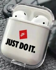 New Nike AirPods Case supreme jordan adidas hype off white swoosh just clear USA