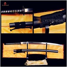 Handmade Japanese Samurai Battle Sword Katana Carbon Steel Full Tang Sharp Blade