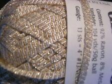 """Ironstone """"GLIMMER"""" Novelty Shimmer Ribbon Yarn #2"""