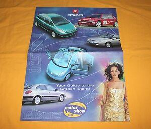 Citroen Saxo Xsara Xantia XM C3 1998 (GB) Prospekt Brochure Depliant Catalog