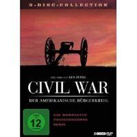 CIVIL WAR-DER AMERIKANISCHE BÜRGERKRIEG 5 DVD NEU