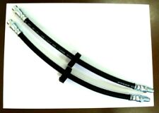 2x Tubo / Latiguillo de Freno Delantero RENAULT Super 5 GT TURBO Express 1.4