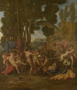 Nicolas Poussin The Triumph of Silenus Giclee Canvas Print Paintings Poster