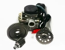 True 20mm Carburetor, 49/17 Gears, A9 Cam -139QMB GY6 scooter racing performance