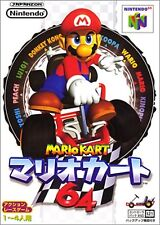USED Mario Kart 64  Nintendo 64 Japan N64 JAPANESE
