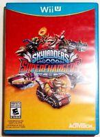 * Nintendo Wii U Activision SuperChargers Super Chargers Racing Skylanders   👾