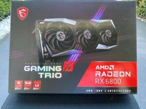 BRAND NEW MSI RADEON RX 6800 GAMING TRIO X (LIMITED QUANTITY) GET IT NOW!