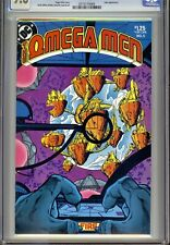 1)CGC 9.8-OMEGA-MEN Vol.1 #5(8/83)2nd LOBO(*AFTER #3)(ROGER SLIFER/KEITH GIFFEN)
