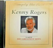 Kenny Rogers Lady His Greatest Hits - CD Country