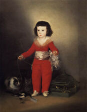 Oil Francisco de Goya Don Manuel the son of the Count and Countess of Altamira
