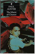 The Music of Chance - Signed by Paul Auster - First U.K. Edition Hardcover