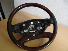 S klasse W221 W216 CL Holzlenkrad Holz heizung Lenkrad sreering wheel wood amg