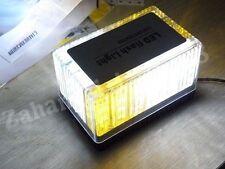 12V Emergency 48 LED Waterproof Magnets Strobe Amber White Light