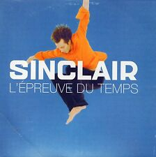 CD SINGLE SINCLAIR L'épreuve du temps 2-track CARD SLEEVE