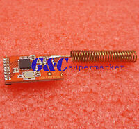 5PCS 433MHZ CC1101 10mW Wireless Sender Receiver board NRF905/SX1212/SI4432